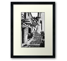 Mediterranean tranquillity Framed Print