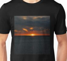sunset on the beach Unisex T-Shirt