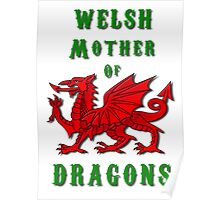 Welsh Mother of Dragons Poster