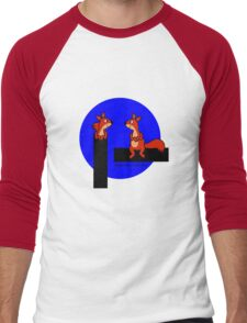 Timber Squirrel Men's Baseball ¾ T-Shirt