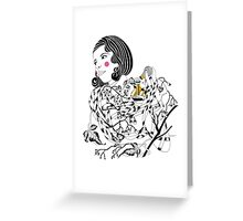 Alluring Alice  Greeting Card