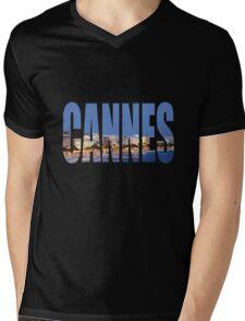 Cannes Mens V-Neck T-Shirt