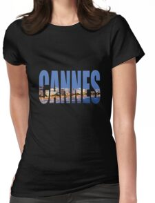 Cannes Womens Fitted T-Shirt