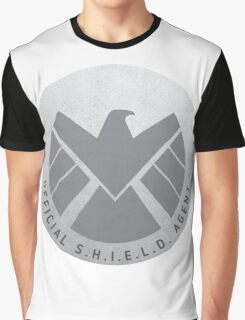 S.H.I.E.L.D. Badge Graphic T-Shirt