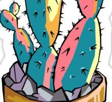 Colorful Cactus Sticker
