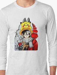 Childhood Anime Long Sleeve T-Shirt