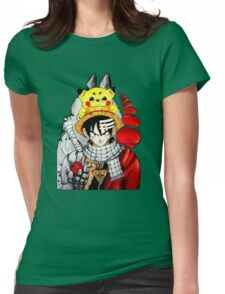 Childhood Anime Womens Fitted T-Shirt
