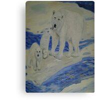 Polar Trio Canvas Print