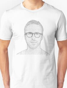 Hey Girl - Black and White T-Shirt