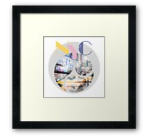 TRENDY DESIGN New York City | Geometric Mix No 1 Framed Print
