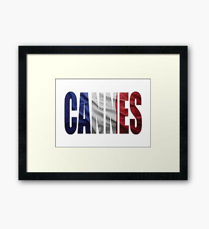 Cannes. Framed Print