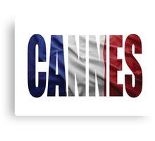Cannes. Canvas Print