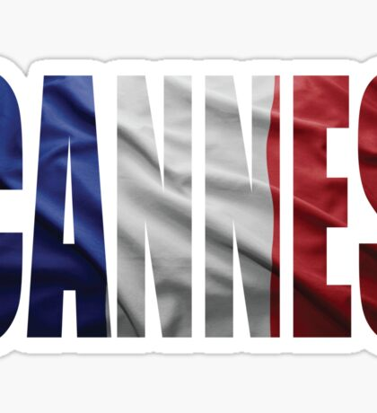 Cannes. Sticker