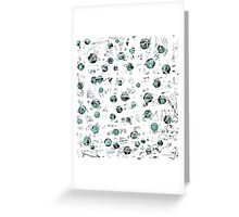 Green soul Greeting Card