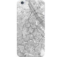 Vienna Map Line iPhone Case/Skin