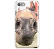 Sweet Rescue Horse iPhone Case/Skin