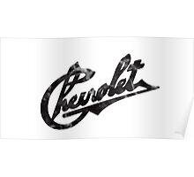 Vintage Chevrolet logo Poster