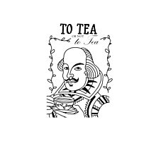 To TEA or not to TEA (Update) Photographic Print