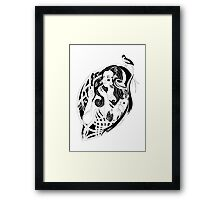 Belle Butterfly Framed Print