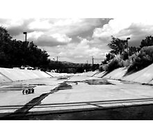ditches in Abq Photographic Print