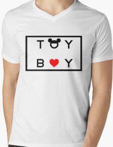 TOY BOY Mens V-Neck T-Shirt
