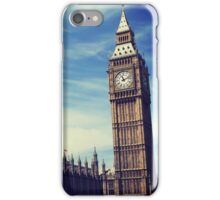 Summer in Lovely London iPhone Case/Skin