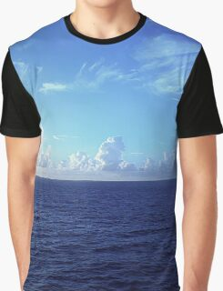 Cloud Line Over the Caribbean  Graphic T-Shirt
