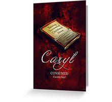 Caryl Book Greeting Card