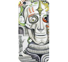 The head of giant cyborg.  iPhone Case/Skin