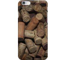 Weinkorken Bordeaux  iPhone Case/Skin