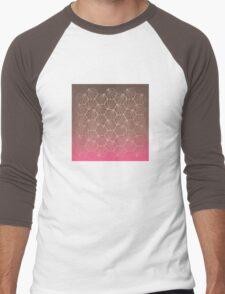 Natural Geometry II Men's Baseball ¾ T-Shirt