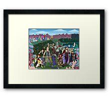 Zulana's Adventure Party Framed Print