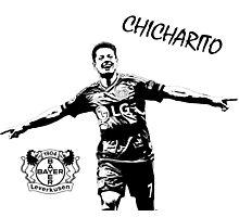 Javier Chicharito Hernandez - Bayer 04 Leverkusen Photographic Print