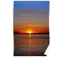 Sunrise at 90 millimeters Poster