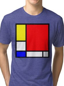 """Hommage to Mondriaan"" Tri-blend T-Shirt"