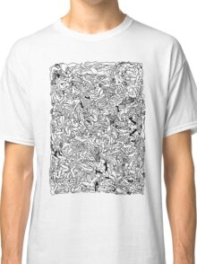 Kamasutra Monotone BW Retro Bodies Classic T-Shirt