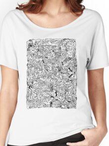 Kamasutra Monotone BW Retro Bodies Women's Relaxed Fit T-Shirt
