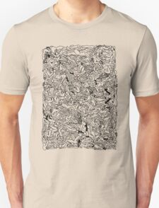 Kamasutra Monotone BW Retro Bodies Unisex T-Shirt