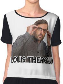 Louis Theroux T Shirt Chiffon Top