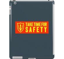 safety motto: Nike Missile Site. VividScene iPad Case/Skin