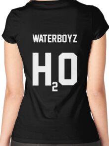WATERBOYZ H20 (WATERBOYZ SESHOLLOWATERBOYZ) Women's Fitted Scoop T-Shirt