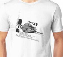 Ford Falcon XY GT HO Car toon, Freddy in grey Unisex T-Shirt