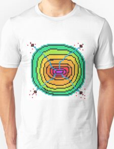 Computer space cell shoot Unisex T-Shirt