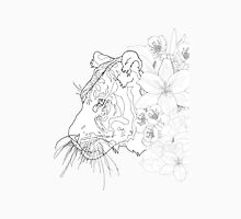 Born From Flowers- Tiger Unisex T-Shirt