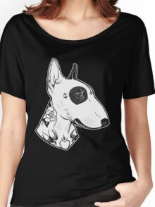 Tattooed Bullterrier Women's Relaxed Fit T-Shirt
