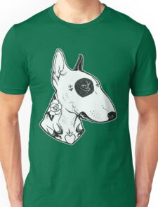 Tattooed Bullterrier Unisex T-Shirt