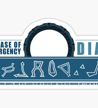 Dial Atlantis Sticker