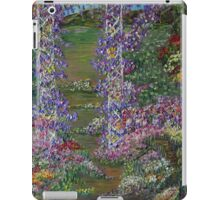 Grandma's Garden-Oil Landscape iPad Case/Skin