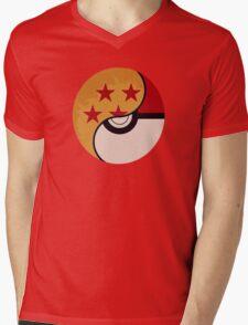 Pokemon DragonBall Fusion  Mens V-Neck T-Shirt