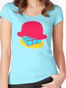Rubiks Droog Women's Fitted Scoop T-Shirt
